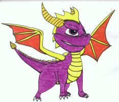 Spyro the Dragon by Up-Your-Arsenal-N90