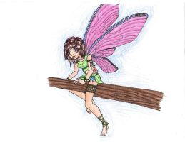 Dragonfly fairy - colored by Doodlebotbop