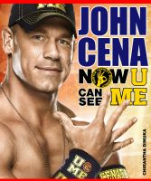 John Cena Now U can C me! Book Cover by Chirantha