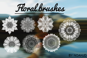 Floral Brushes by iCrystals