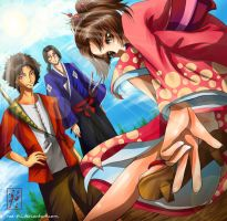 Champloo Trio by rae-shi