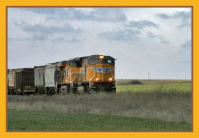 Union Pacific on the Plains by factorone33