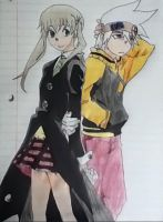 Maka and Soul by Bionico2OO7