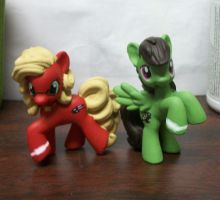 Tiger and Bunny PONIES by PocketChibisAndSuch