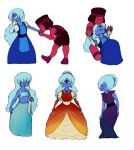Ruby and Sapphire - Sketches by NymphalisIo