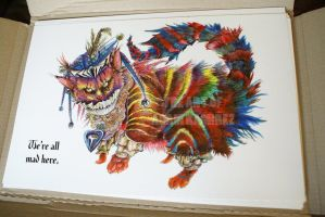 Cheshire Cat Prints for sale by MonsterBrand