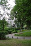 Post Mill In A Mont Cassel Garden by aegiandyad