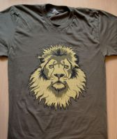 Lion Head RedBubble T-Shirt by Rustyoldtown