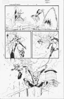 Spider-ManMs. Marvel INKS 13 by MarkIrwin