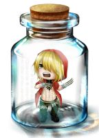 TnC in a bottle: Gunji by Killer-Chan