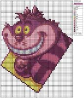 Cheshire Cat by Makibird-Stitching