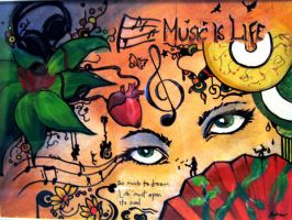Music is Life by ExtremeSi