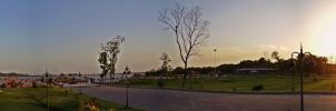 Rawal Lake - View Point by kr8v