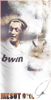 Mesut Ozil: Raise a Hand! by PaRaLaX-ArT