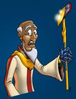 Techno Priest in Colour by Markside