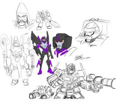 TF Doodles by SeanRM