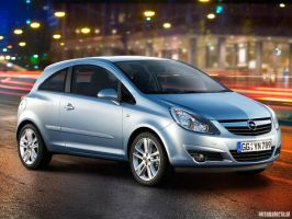 opel corsa by lucaport