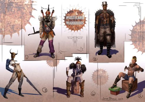 Wasteland Warroirs by guang2222
