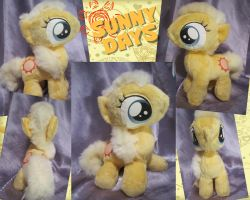 Sunny Days Plushie by equinepalette