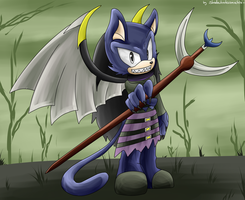 CM : Dahak the Panther by shadowhatesomochao