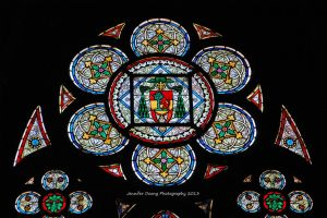 Notre Dame's Stained Glass 4 by MorrighanGW