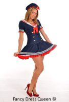 Chief Mate Sailor Fancy Dress Costume by fancydressqueen