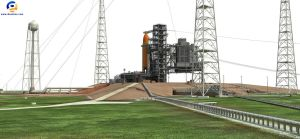 NASA Launch Complex 39B by Gandoza