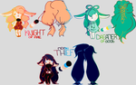 future adoptables by YuukiOssmell