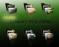 CAMO FOLDERS by Tongsky