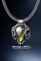 Storm's End - Silver pendant by Zasada