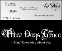 """""""I Hate"""" Everythig About You by NemesisDivina666"""