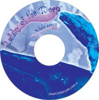 Lullaby of the Deep CD label by Sombraluz-Images