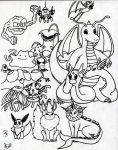Pokemon series1 Group2 by The-Dude-L-Bug