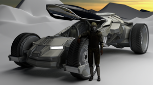 speed car cycles render wip by DennisH2010