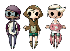 .: Owl Chibis Revealed :. by JellyTheTangrowth