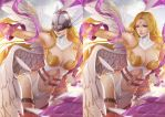 Angewomon Digimon Unmasked by magion02