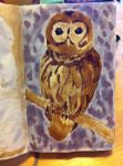 Coffee and Tea Owl by the-walrus0