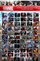 Marvel Ultimate Complete Collection Folder Icon by wchannel96