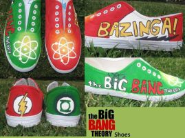 Big Bang theory Shoes by SukiUchiha1453