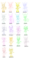 HUGE 50 Point PokeSonic Adopts by Katsumimi