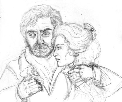 Raoul and Charlotte de Chagny by MademoiselleMeg