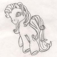 My little pony by cbacswimming