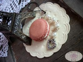 MACARON PHONE STRAP by theporcelainrose