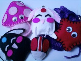 Jualan : Plushie Doll Sample by Cairy
