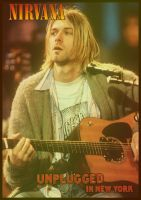 Nirvana Unplugged poster by SylentEcho88