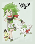 My Pokemon trainer + Pokemon by Ishisu