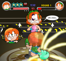 Chelsea's Punch-Out!! by LuigiStar445