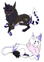 look at these babs by Gravitii