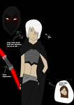 Star war new oc (Darth Marr) by NinjaAnimeHero