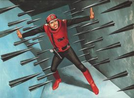 Captain Scarlet, Ron Embleton by Ostercy